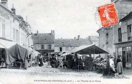 78 Neauphle Le Chateau Le Marché De La Marée 1914 - Neauphle Le Chateau
