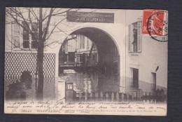 Paris 12 - Inondations De Janvier 1910  - Compagnie Ceramique Jacob Delafon  Entree Bureaux Ateliers 14 Quai De La Rapee - Distretto: 12
