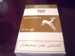 """Paquet De Cigarettes""""RYM""""-Plein-SPECIAL EDITION- 50 ANS DEJA- SNTA-Algerie - Cigarettes - Accessoires"""