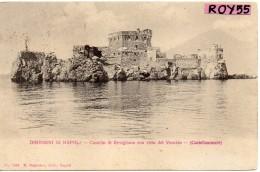 Campania-castellammare Di Stabia-castellammare Castello Di Revigliano Con Vista Vesuvio Inizio 900 - Castellammare Di Stabia