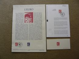 FRANCE  DOCUMENTS SUR L'EURO - Stamps