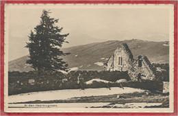 68 - Vallée MUNSTER - Hautes VOSGES - Soldat Allemand - Ferme Rothenbrunnen En Ruines  - Guerre 14/18 - Photo Zahneissen - Non Classés
