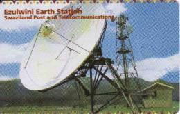 Swaziland, Phonecard, Chip,Ezulwini Earth Station - Swaziland