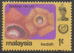 Kedah (Malaysia). 1979 Flowers. 1c MH. SG 135 - Malaysia (1964-...)