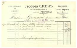 Facture Jacques Creus, Perpignan, Chaussures Sur Mesure, Embauchoirs ... - France