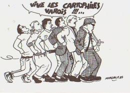 Cartophilie        H3        Cartophiles Varois ( Convocation )( Illustrateur  Moreau ) - Bourses & Salons De Collections