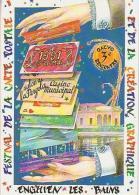 Cartophilie        H10         Enghien Les Bains .3ème Rencontre Des Créateurs ( 1991 ) - Bourses & Salons De Collections