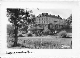 Format CPSM 24 ST André Allas ,le Chateau Du Roc - Advertising