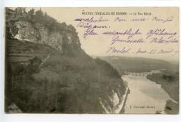 Ruines Féodales De Domme Le Roc Béral - France