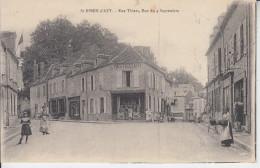 SAINT BENIN D´AZY - Rue Thiers , Rue Du 4 Septembre ( ETAT )   PRIX FIXE - France