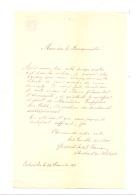 Brief Von Einem Theologiestudent Von BONN In Seiner Bürgermeister  1871- ESCHWEILER  (b185) - Manuskripte