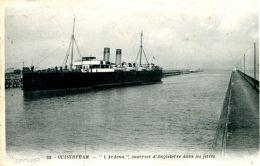 """N°163 E -cpa Ouistreham -""""l'Ardena"""" - Commerce"""