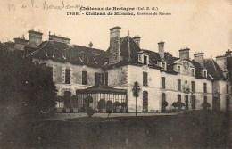 35  Châteaux De Bretagne  Château De BLOSSAC  ' Environs De Rennes - Autres Communes