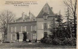 35 Châteaux De Bretagne  FEULAVOY , à LUITRE - Francia
