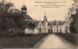 35 Châteaux De Bretagne  Château De La Prévalaye - Francia