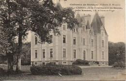 35 Châteaux De Bretagne  Château De La Tournerais En Goven , Près Rennes - Frankrijk