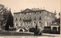 13 Environs D'AIX-en-PROVENCE  Château De Fonscolombe - Aix En Provence
