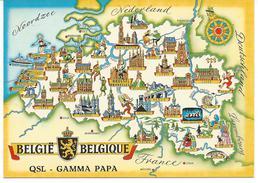 België-Belgique QSL - Gamma Papa - Belgique