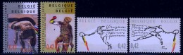 België 2002 - 3052/3055**- POSTFRIS - NEUF SANS CHARNIERES - MNH - POSTFRISCH - Unused Stamps
