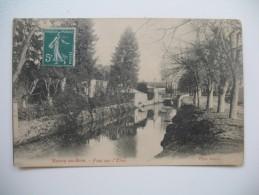 """CPA     Rozoy- En-Brie   """"   Pont Sur L'Yère  """"   Voyagé - Otros Municipios"""