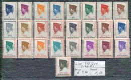 SERIE 453/71B  XX  MNH - Indonesia