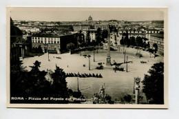 ROMA - Piazza Del Popolo Dal Pincio - Roma (Rome)