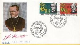Vaticaan - FDC 28-02-1984 - 100. Todestag Von Gregor Mendel - Michel 844 - 845 - FDC