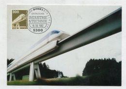 GERMANY - AK 268797 MC  MaxiPhil 22/82  Dauerserie - Magnetbahn - Cartoline Maximum