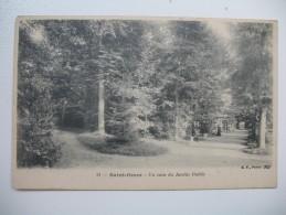 """CPA       St-Omer      """"  Un Coin De Jardin Public   """" - Saint Omer"""