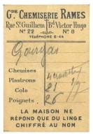Carte Petit Format : Grande Chemiserie Rames ( Montpellier ) - Autres Collections