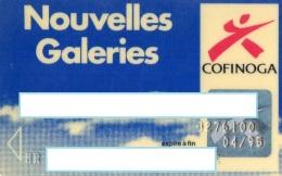 CARTE DE CREDIT COFINOGA  Nouvelles Galeries - Cartes De Crédit (expiration Min. 10 Ans)