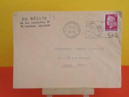 Flamme - 94 Val De Marne, Le Kremlin Bicetre - La Réjane 94 Cachan - 2.4.1970 - Marcophilie (Lettres)
