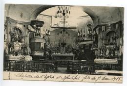 Chapelle De L´église D´Hautefort Fête De Jeanne D´Arc 1915 (légende Manuscrite) - France