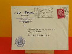 Flamme - 92 Hauts De Seine, Le Vallois Perret - Le Vexin Salaisons, Épargne Logement  -  17.1.1970 - Marcophilie (Lettres)