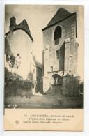 Saint Geniès L'église Et Le Château - France