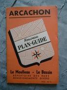 ARCACHON       PLAN GUIDE - Dépliants Touristiques