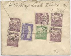 HONGRIE - 1923 - ENVELOPPE De BUDAPEST Pour MOULINS (ALLIER) - Marcophilie
