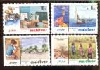 MALDIVES ; MINT N.H. STAMPS ; SCOTT # 1010-3 ;  IGPC 1983 ( DEVELOPMENT - Maldives (1965-...)