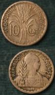 M_p> INDOCHINE FRANCAISE 10 Centimes 1941 - Republique Francaise - AGGIORNATO PREZZO - Colonie