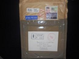 Canada Lettre Recommande De Ste Therese 1987 Pour Saint Cannat , Avec Un 5 $ - Lettres & Documents
