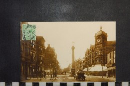 CP, Royaume Uni, Angleterre, The Market Cross And Deansgate BOLTON RARE Automobiles Anciennes - United Kingdom