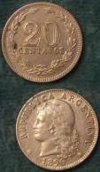 M_p> Argentina 20 Centavos 1896 - Argentina