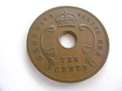 10 CENTS, Afrique De L'Est Britannique (East Africa), Année 1951 - Grande-Bretagne