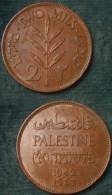 M_p> Palestina - Palestine 2 Mils 1942 - Bella Conservazione - Israele