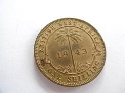 1 SHILLING, Afrique Occidentale Britannique (BRITISH WEST AFRICA), Année 1943 - Grande-Bretagne