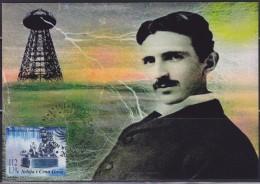 7879. Serbia And Montenegro (Yugoslavia), 2006, Nikola Tesla, CM - Serbia