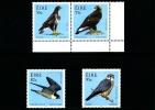 IRELAND/EIRE - 2010  BIRDS OF PREY  SET  MINT NH - 1949-... Repubblica D'Irlanda