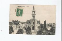 HAGETMAU (LANDES) 6 L'EGLISE 1908 - Hagetmau