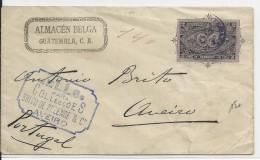 GUATEMALA - 1897 - ENVELOPPE ENTIER Pour AVEIRO (PORTUGAL) - Guatemala