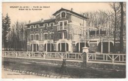 91 - BRUNOY - Forêt De Sénart - Hôtel De La Pyramide - Edition Glenarec - 1922 - Brunoy